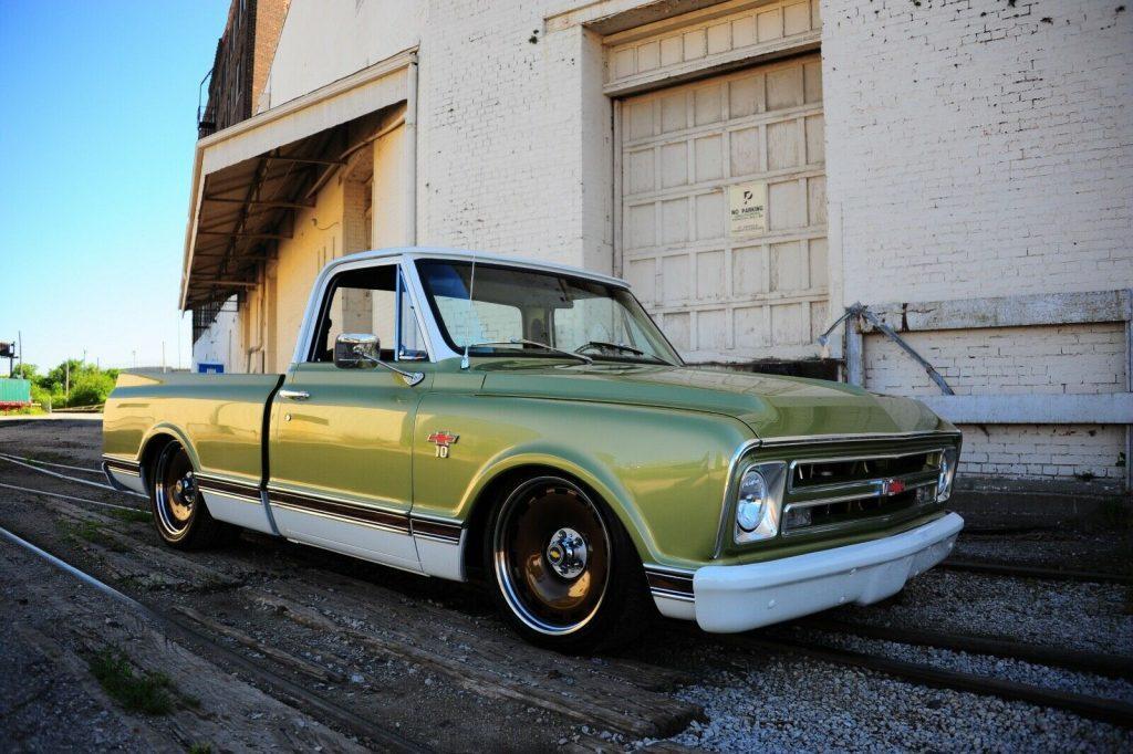 vintage 1967 Chevrolet C 10 custom