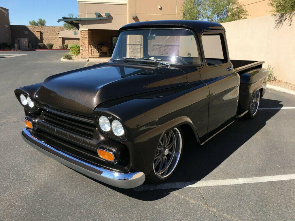 restomod 1958 Chevrolet Apache pickup custom