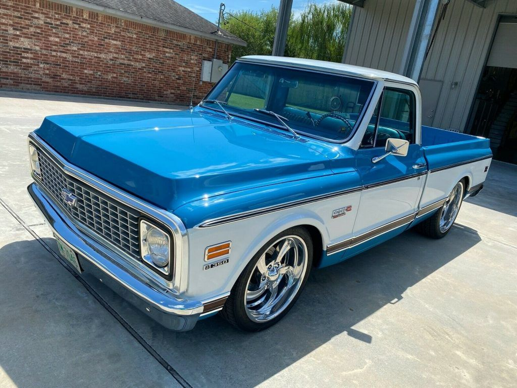 1972 Chevrolet C 10 Custom [frame off restoration]