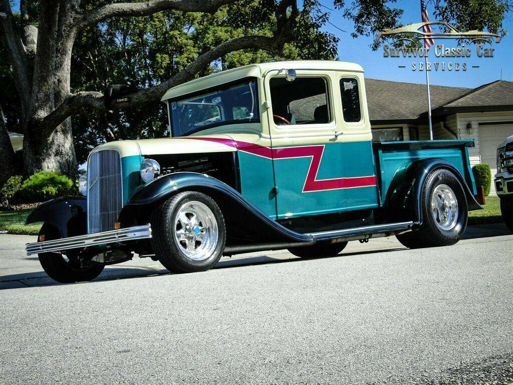 1933 Ford Pickup Street Rod custom [well documented build]