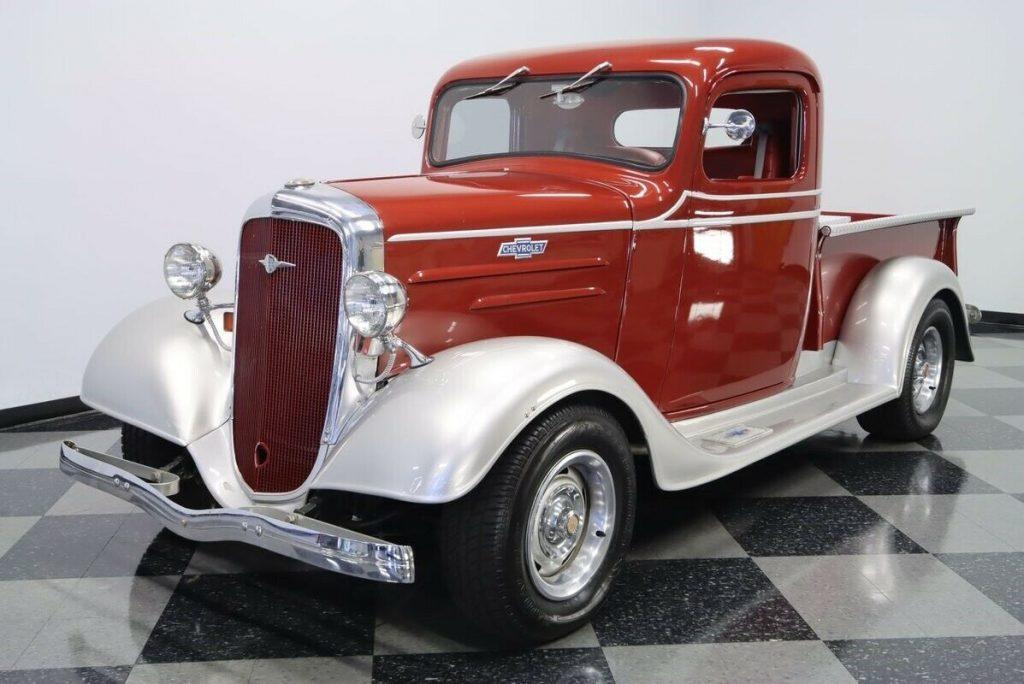1936 Chevrolet Pickup custom [attention grabber]