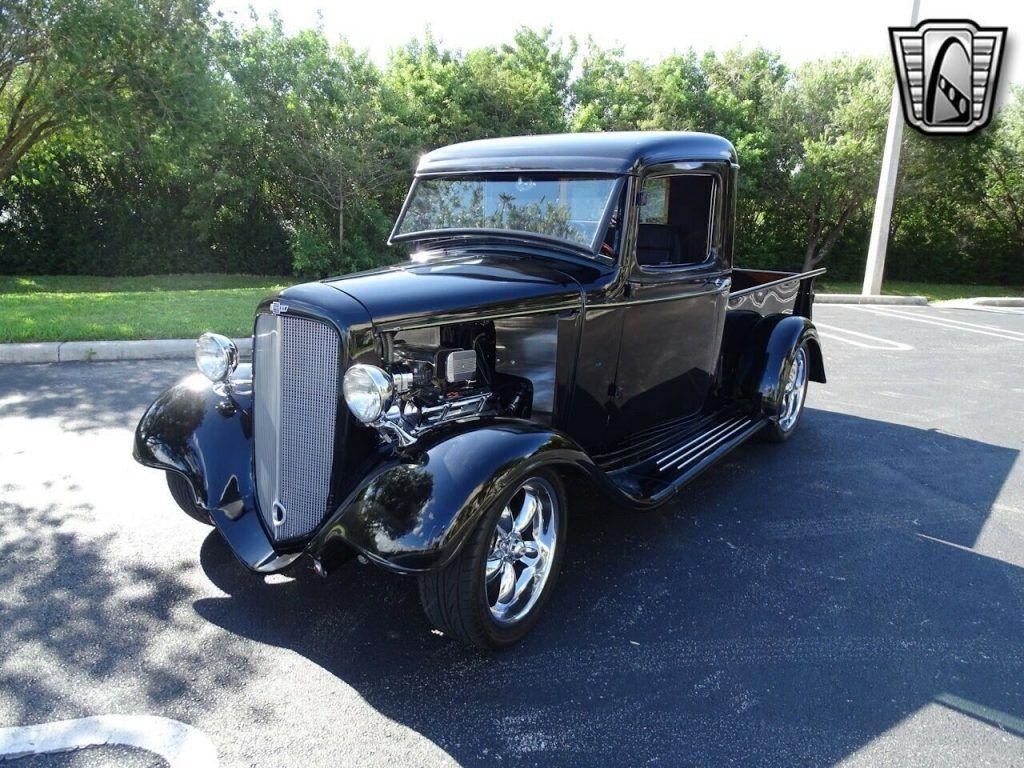 1934 Chevrolet Pickup custom [stunning restomod truck]