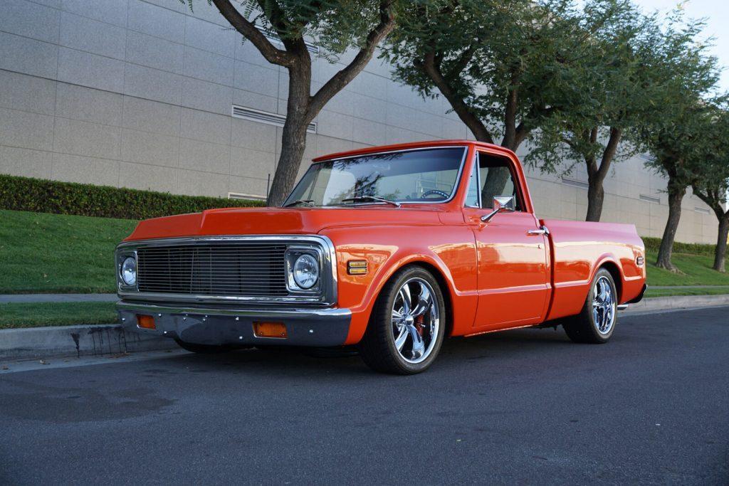 1971 Chevrolet C10 Custom Short Bed Restomod custom [frame off restoration]