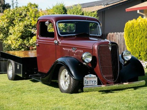 1935 Ford Commercial pickup custom [nicely customized] for sale