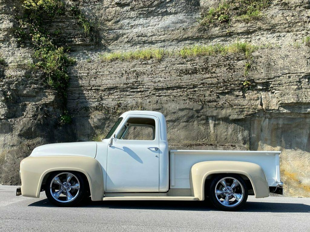 1954 Ford F100 Custom [restored with lot of interesting upgrades]