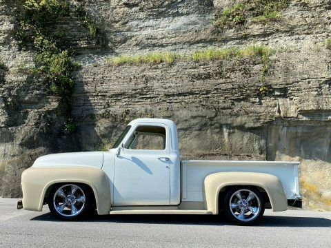 1954 Ford F100 Custom [restored with lot of interesting upgrades] for sale