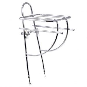 Sim Works x Nitto potluck chrome front bicycle rack
