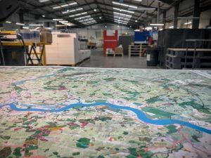 London National Park City map - hot off the press at Dennis Maps
