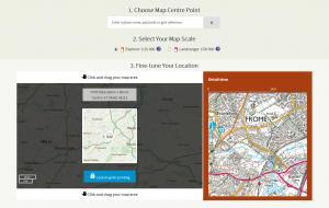 Creating custom made maps