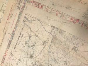 Trench warfare maps WW1