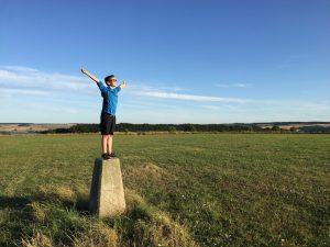 Spencer Codford Fort trig point