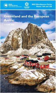 Cover of Arctic Map - British Antarctic Survey