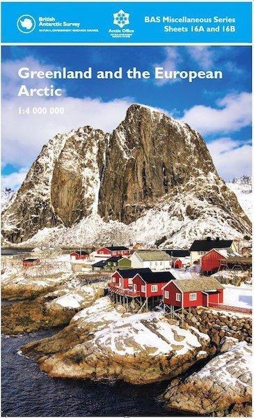 Cover of Arctic Map British Antarctic Survey
