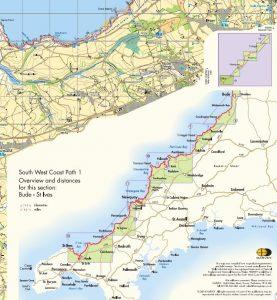 St Ives mapping - South West Coast Path