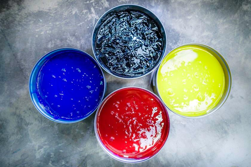 Ink containers with Environmentally friendly inks