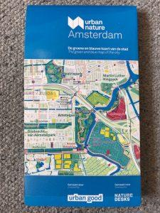 Map cover of Urban Nature Amsterdam map