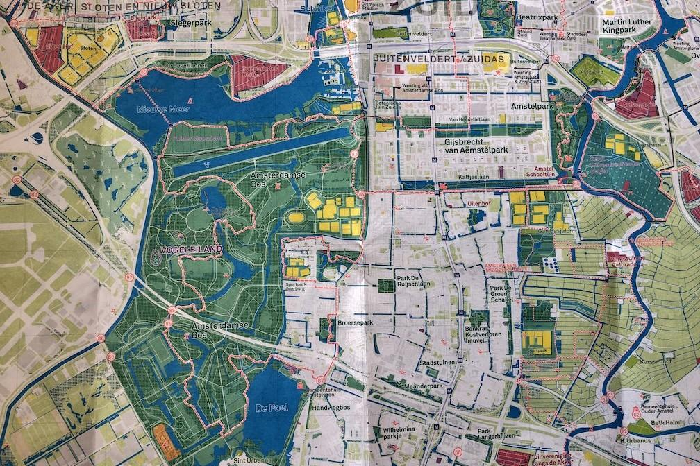National Park City - Urban Nature Amsterdam map