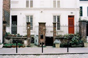 Terrace houses showing front doors - walk from home