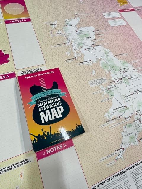 Dennis Maps Music Map