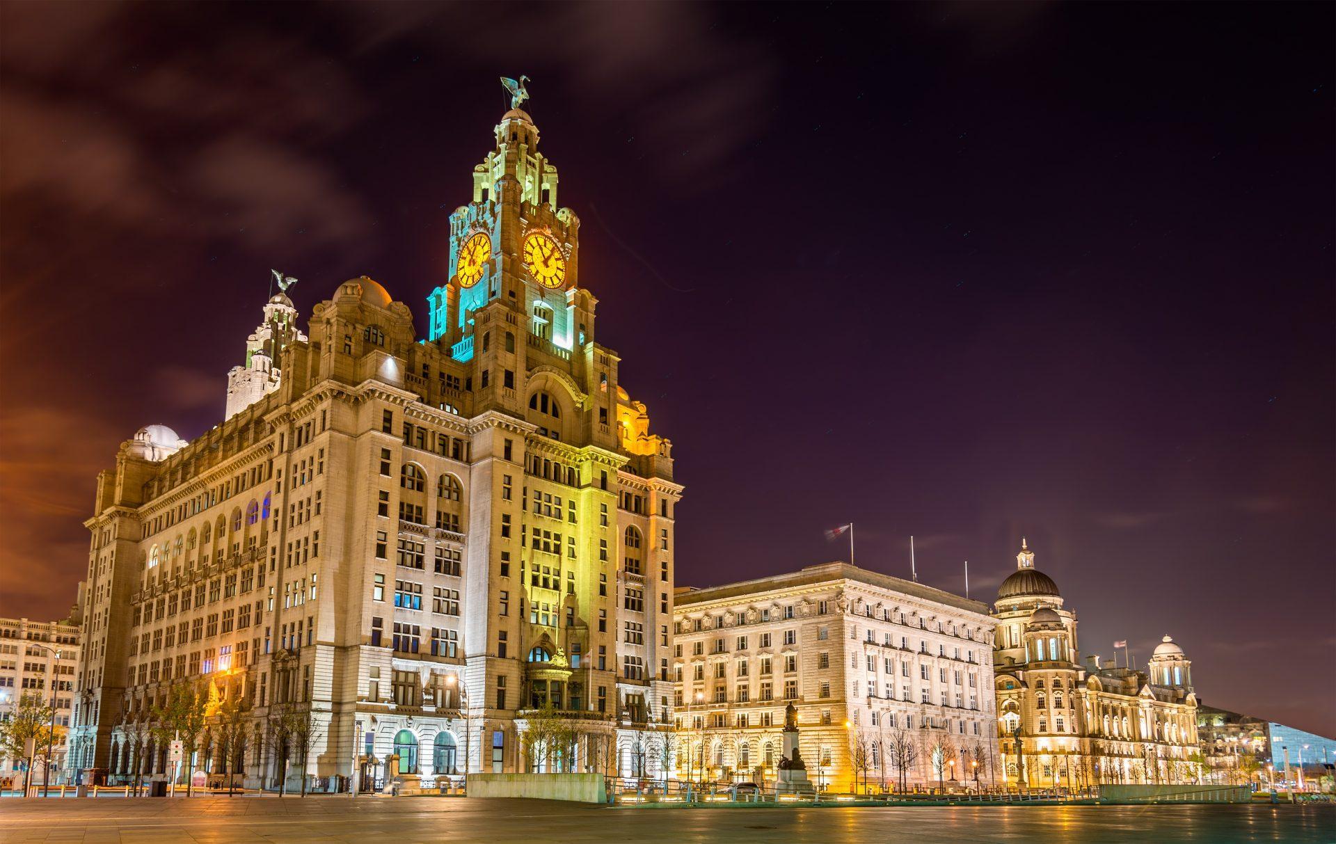 The Royal Liver Building, Liverpool, England