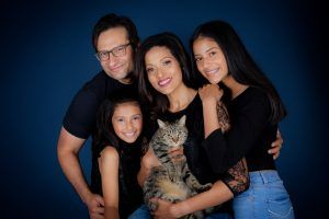 Family Photography with Makeup Service and pets