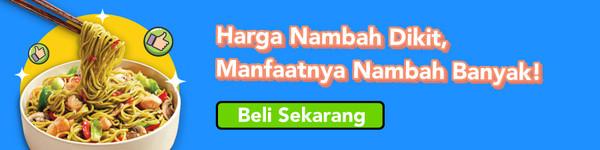 banner decision halal bebas pengawet kategori mie bg lime green