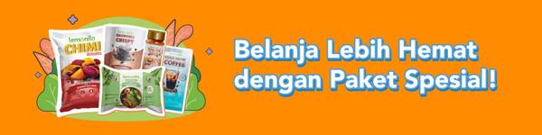 banner decision belanja hemat paket special bg orange