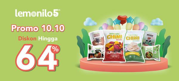 Promo 10.10 Lemonilo Diskon Hingga 64% Untuk Produk Terfavorit!