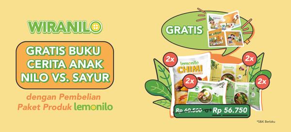 Pembelian Bundle Dapat GRATIS Buku Cerita Anak Spesial Untuk Wiranilo!