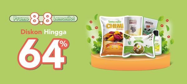 Promo 8.8 Produk Lemonilo Lebih Hemat Hingga 64%!