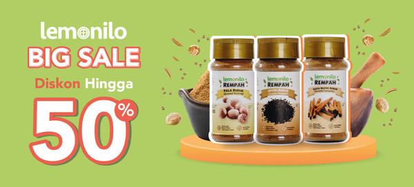 Big Sale September Lemonilo! Produk Pilihan Diskon Hingga 50%