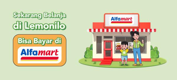 Sekarang Belanja di Lemonilo, Bisa Bayar di Alfamart!