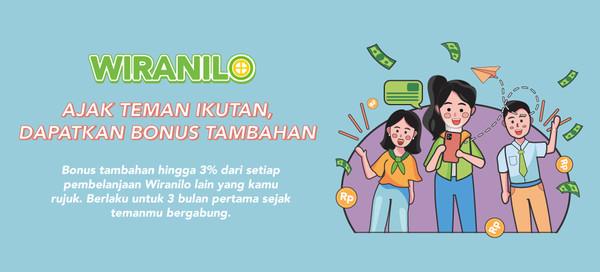 Ajak Teman Jadi Wiranilo, Banyak Untungnya!