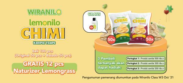 Challenge Chimi Tempe Beli 100 pcs Menangkan Keuntungannya Spesial Wiranilo