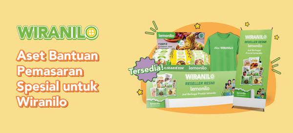 Aset Bantuan Pemasaran Spesial untuk Wiranilo