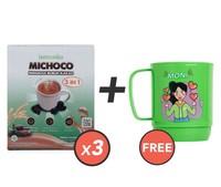 Beli 3 Lemonilo Michoco GRATIS 1 Mug Moni