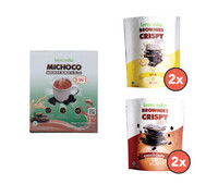 Paket Lengkap Brownies x Michoco
