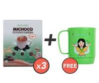 Beli 3 Lemonilo Michoco GRATIS 1 Mug Mama Nilo