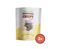 Paket Brownies Crispy Keju isi 3 Pcs