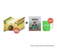 Paket Mie Kari Ayam Isi 20 dan Michoco GRATIS Mug