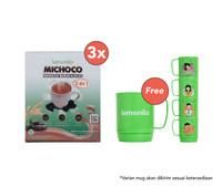 Beli 3 Lemonilo Michoco GRATIS 1 Mug