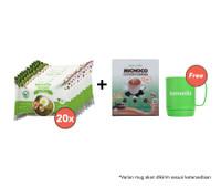 Paket Mie Goreng Isi 20 dan Michoco GRATIS Mug
