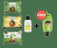 Paket 3 Varian Mie & Naturizer Lemongrass 50 ml GRATIS Holder Naturizer