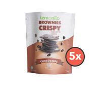 Paket Brownies Crispy Chocochips isi 5 pcs