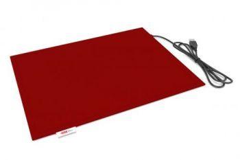 Коврик Lappo с подогревом USB, 32х26 см. Цвет бордовый - фото 1