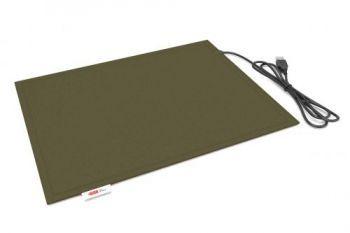 Коврик Lappo с подогревом USB, 32х26 см. Цвет оливковый - фото 1