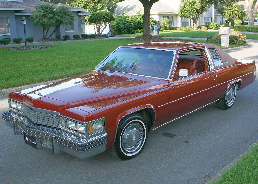 1977 Cadillac Deville Coupe Southern Survivor