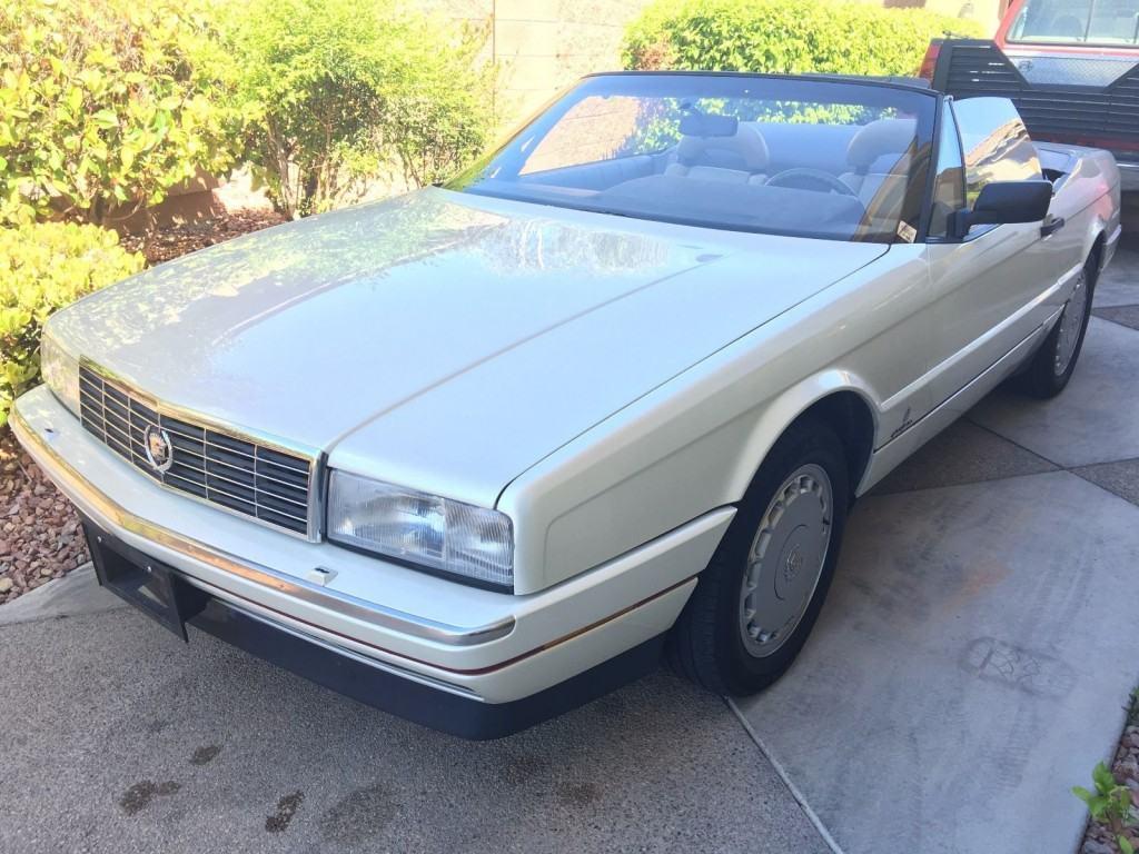 1992 Cadillac Allante Convertible
