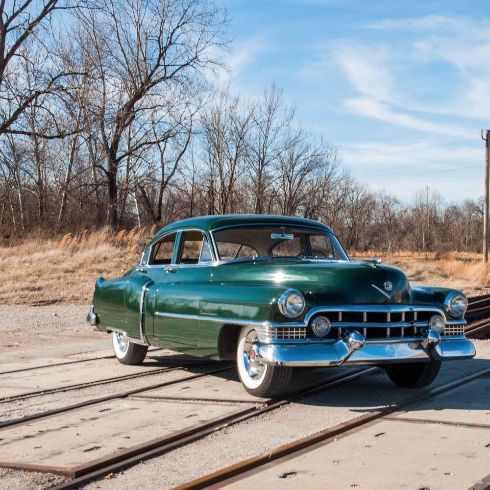 new parts 1951 Cadillac Series 61 Sedan partly restored original