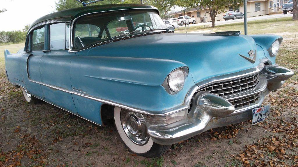 running 1955 Cadillac Sedan